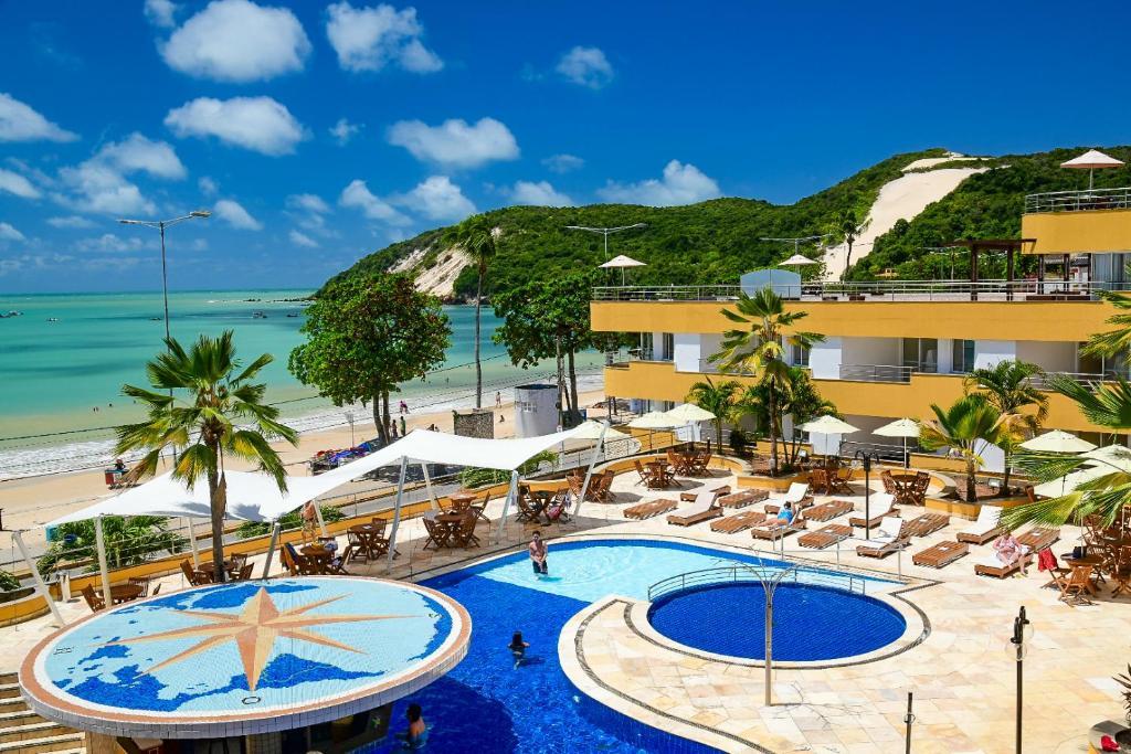 Uma vista da piscina em Aquaria Natal Hotel ou nos arredores