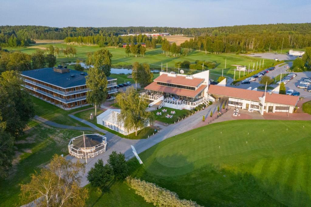 A bird's-eye view of First Hotel Lindö Park