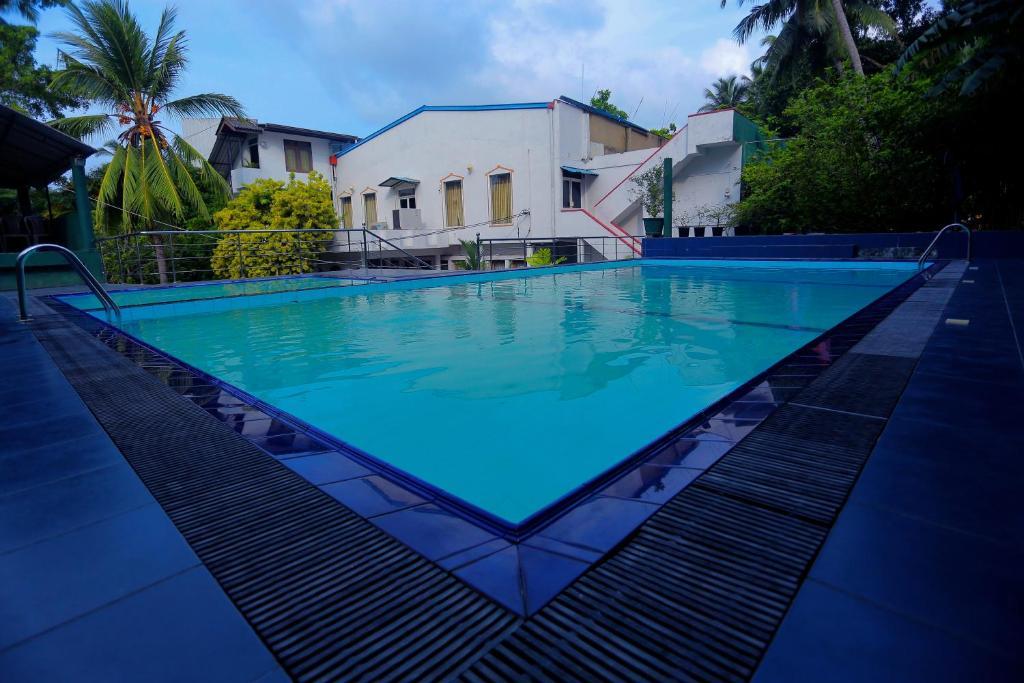 The swimming pool at or near Hotel Aradhana