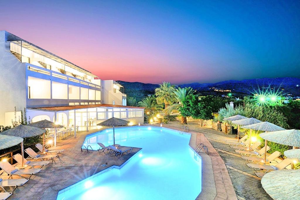 The swimming pool at or close to Elounda Krini Hotel