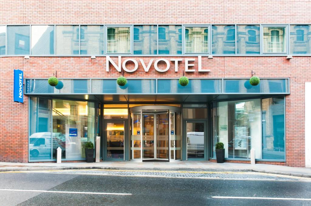The Novotel Liverpool Centre.