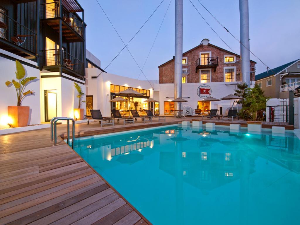 The swimming pool at or near Turbine Hotel & Spa