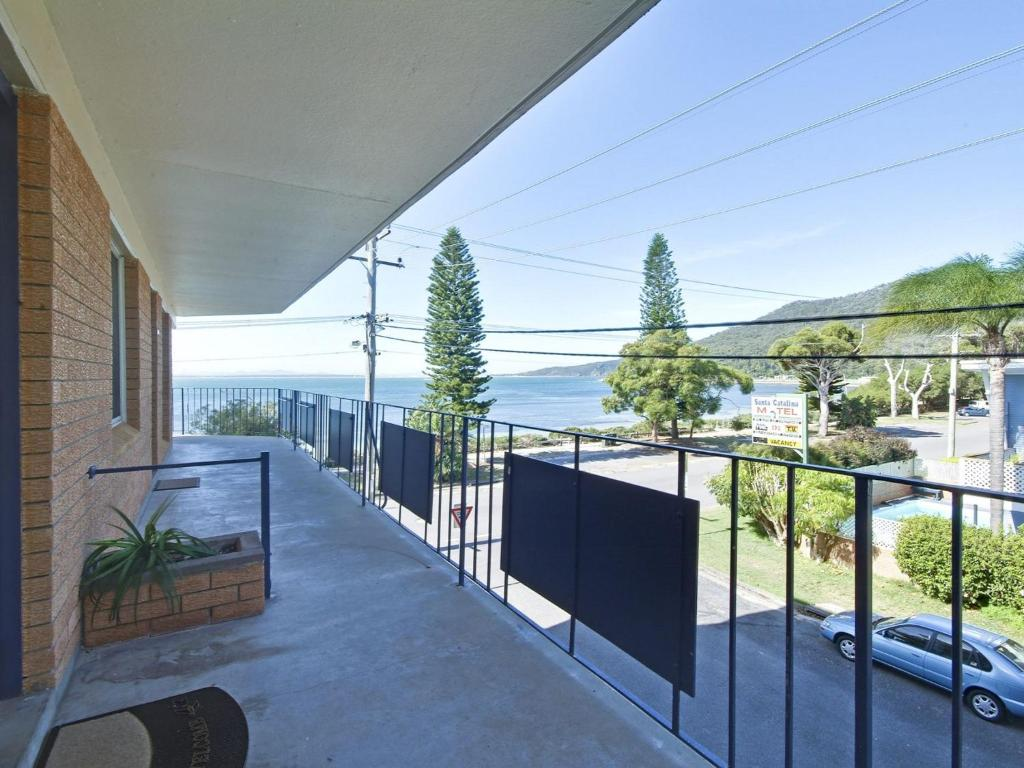 A balcony or terrace at 5 'SHOAL TOWERS', 11 SHOAL BAY RD - FANTASTIC LOCATION WITH WATER VIEWS