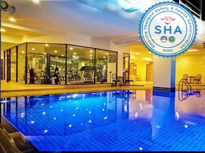 The swimming pool at or near Tai Pan Hotel