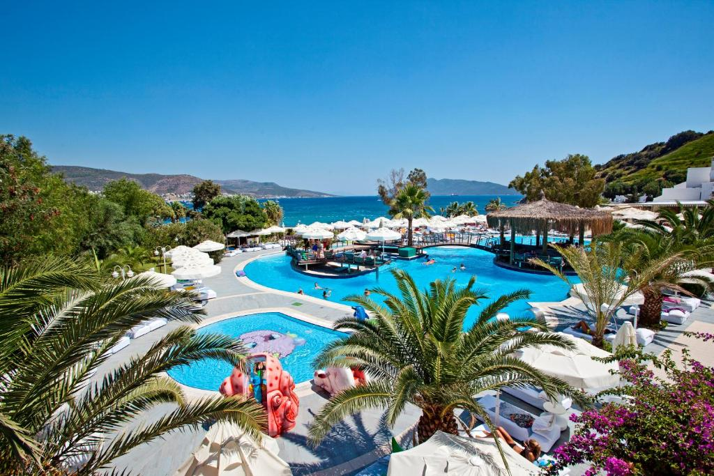 A view of the pool at Salmakis Resort & Spa or nearby