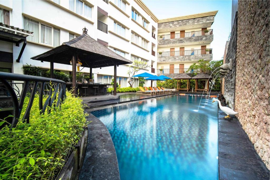 The swimming pool at or close to Natya Hotel Kuta