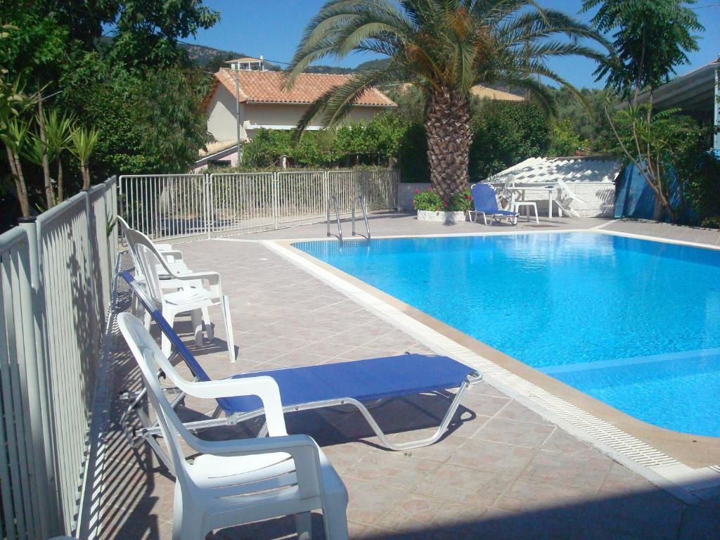 The swimming pool at or near Polyxenis Rooms