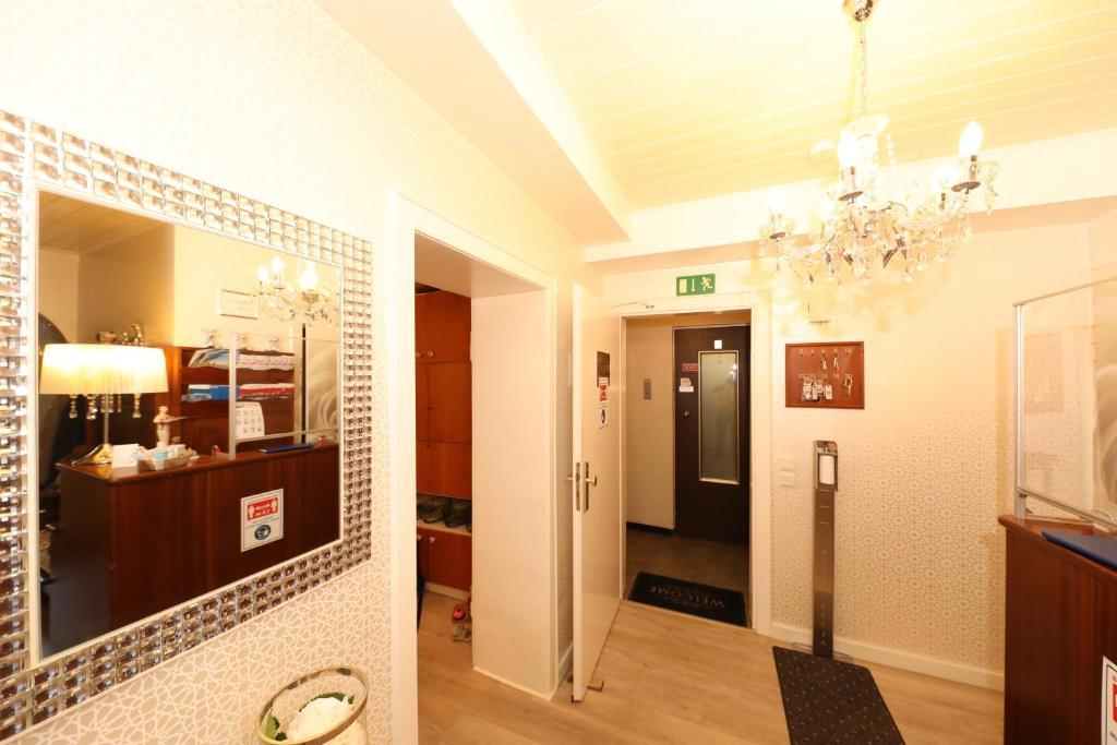 Lobby/Rezeption in der Unterkunft Hotel Am Ehrenhof
