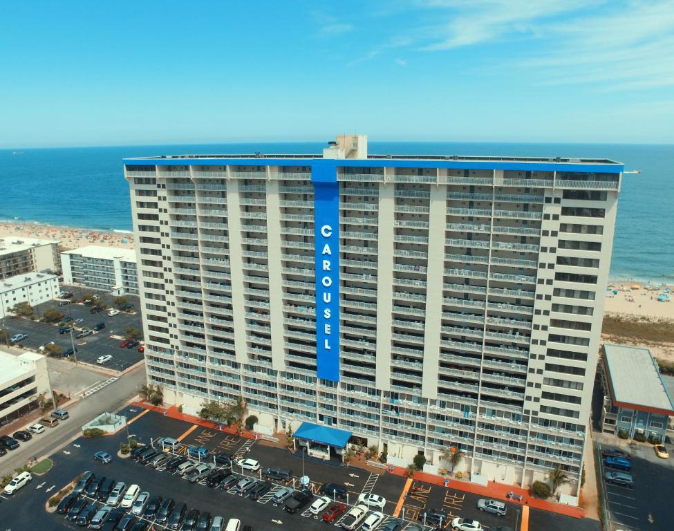 Carousel Resort Hotel and Condominiumsの鳥瞰図