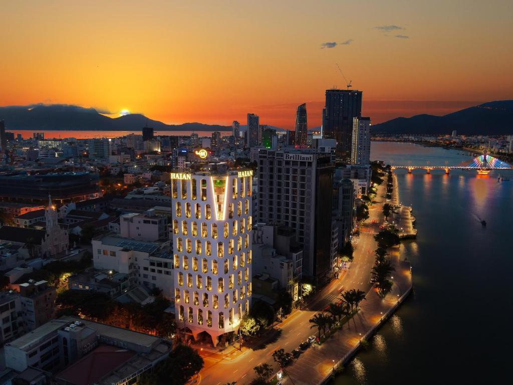 A bird's-eye view of Haian Riverfront Hotel Da Nang