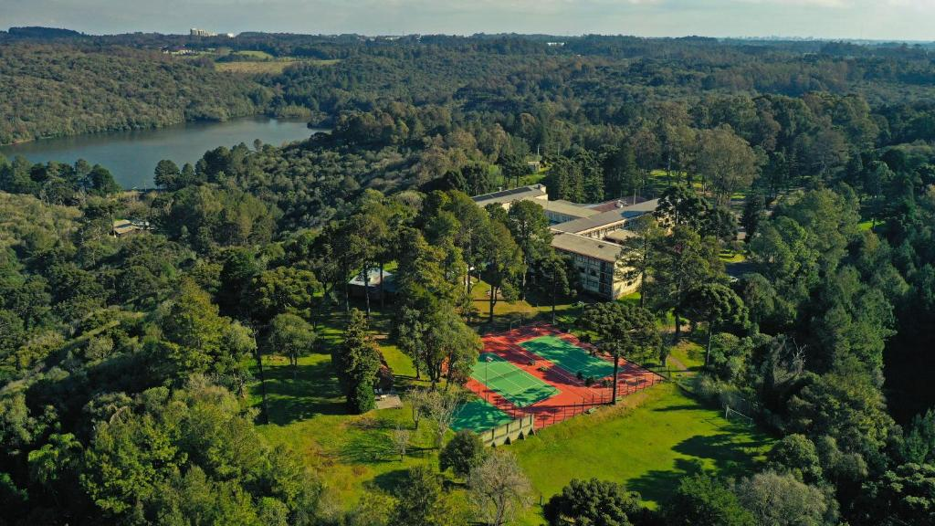 A bird's-eye view of Sky Samuara Hotel Caxias do Sul