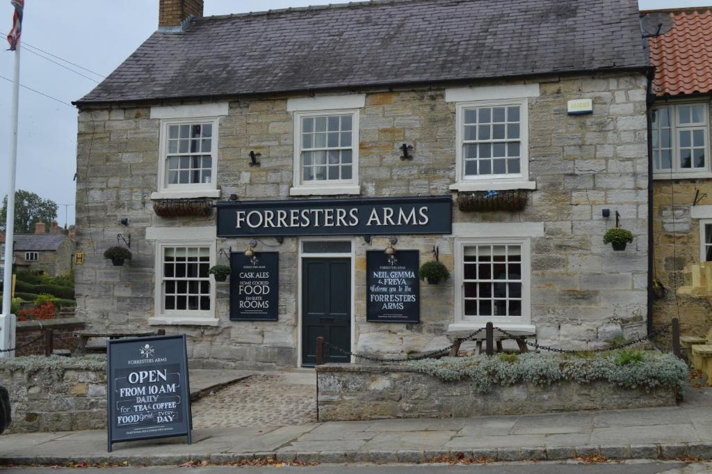 The facade or entrance of The Forresters Arms Kilburn