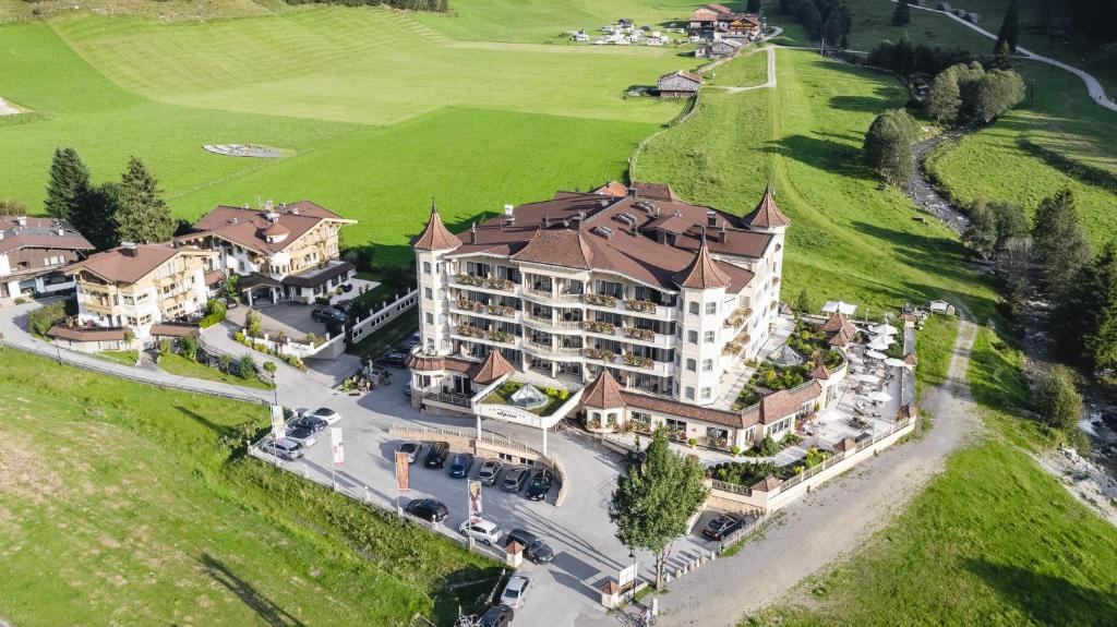 A bird's-eye view of Traumhotel Alpina - Yoga & Ayurveda - Adults only