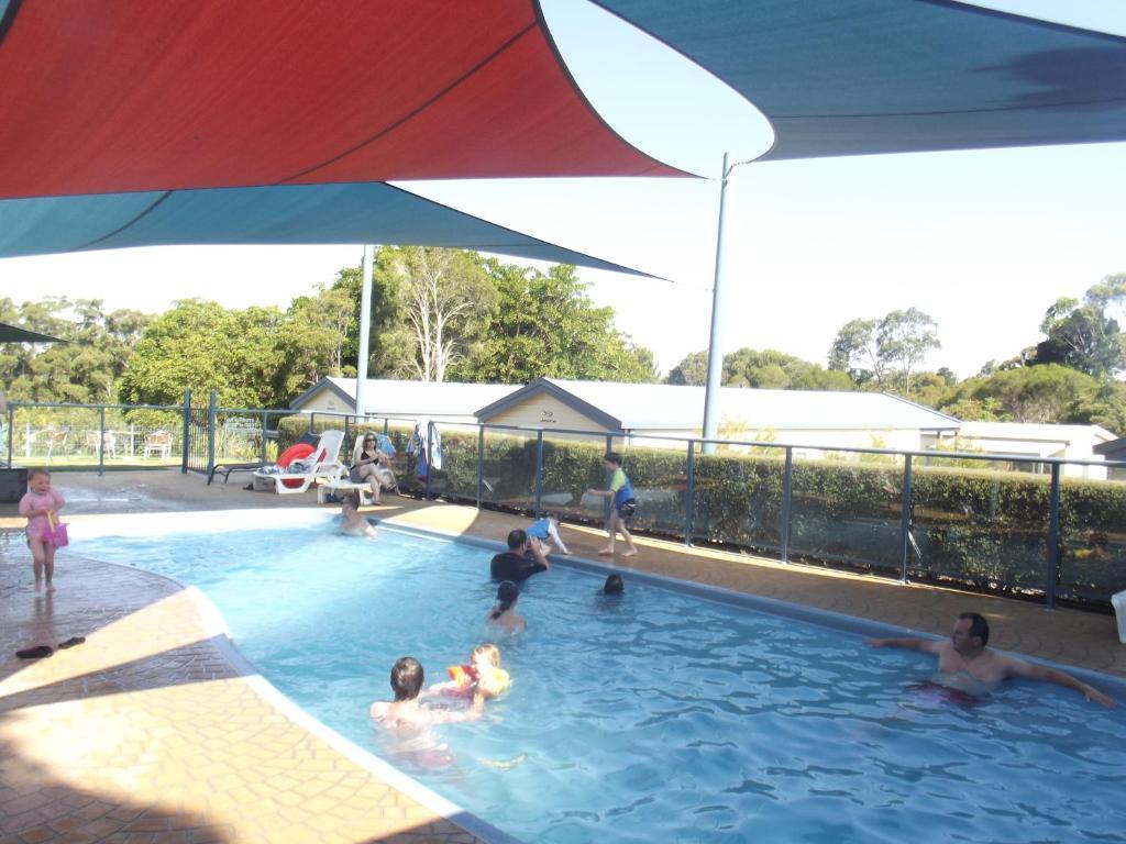 The swimming pool at or near Metung Holiday Villas