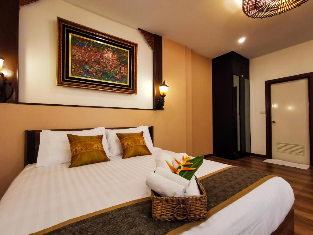 A room at QG Resort