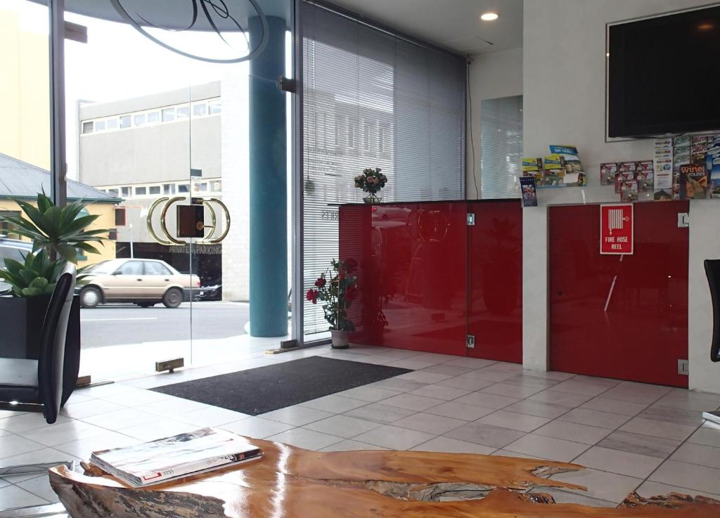 The lobby or reception area at Harringtons102