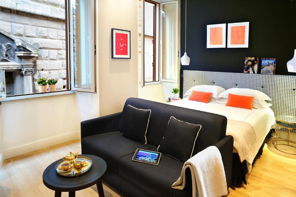 A room at the Nerva Boutique Hotel.
