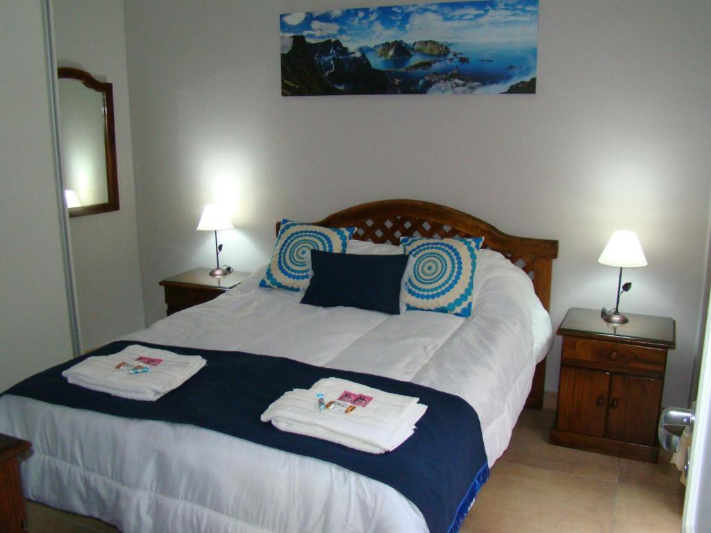 A room at Mis Nietos