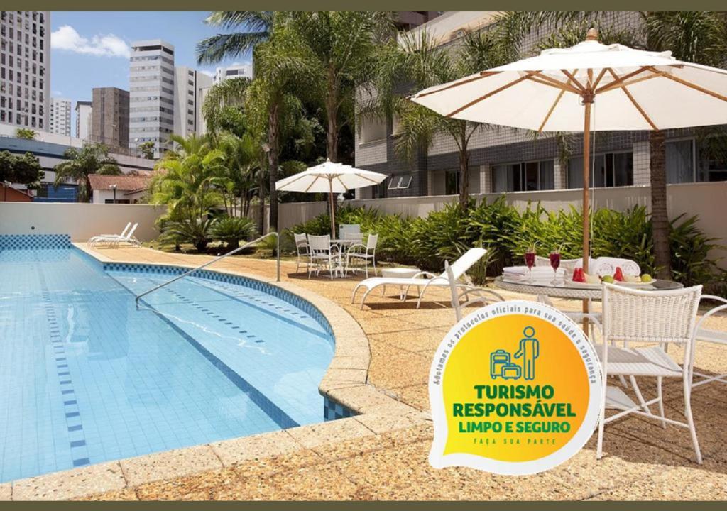 The swimming pool at or near Royal Golden Hotel - Savassi