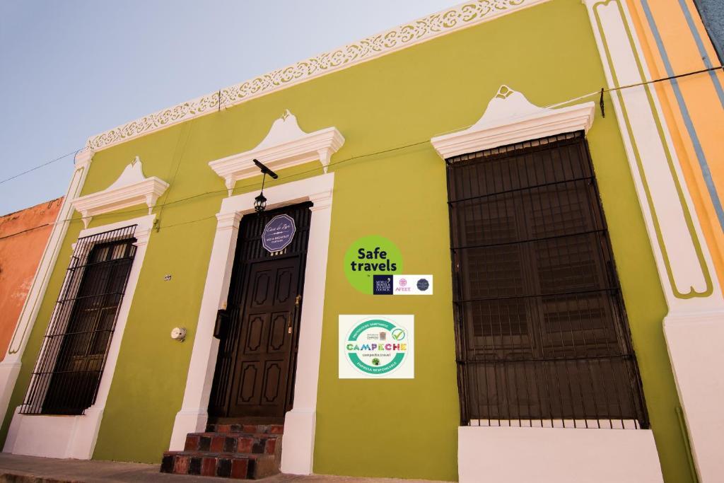 Fachada o entrada de Casa de Zari B&B