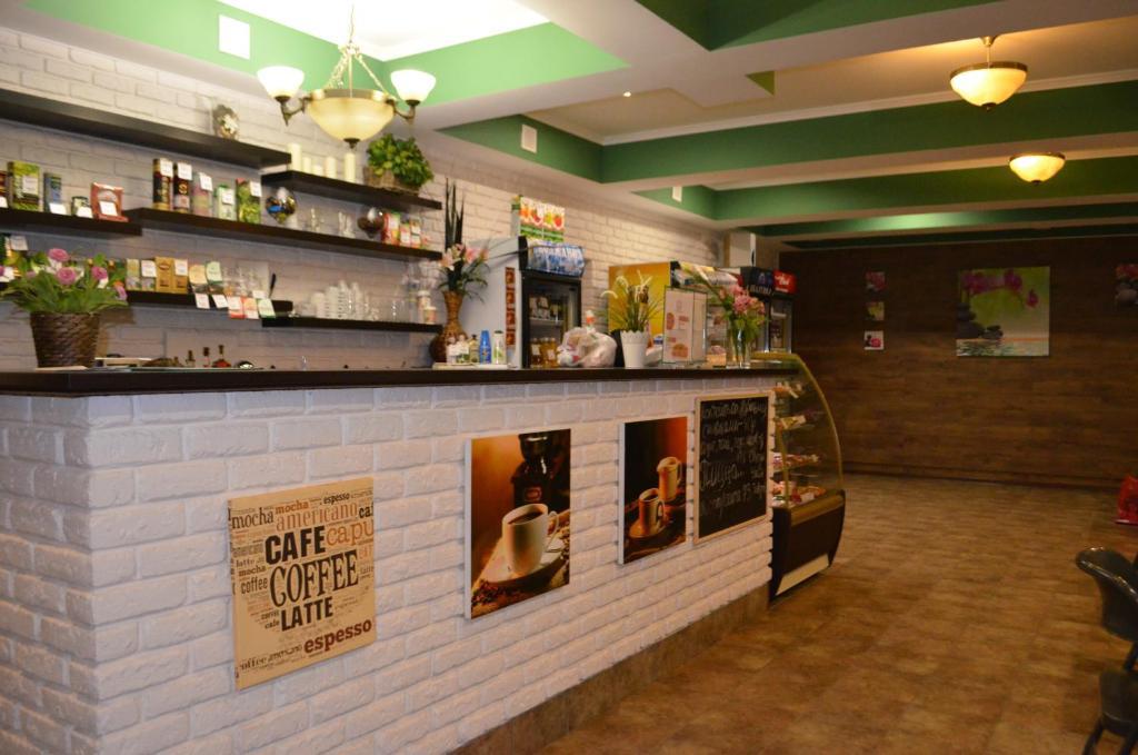 Лаундж или бар в Отель Аура