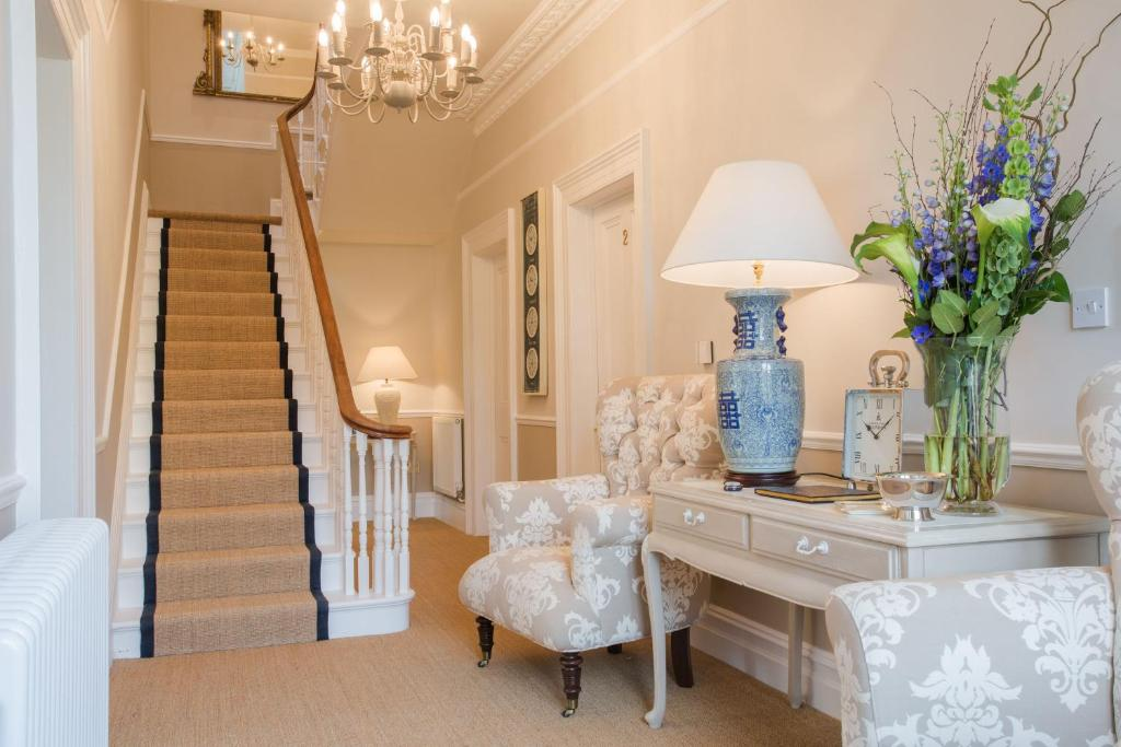 A seating area at Grays Boutique B&B