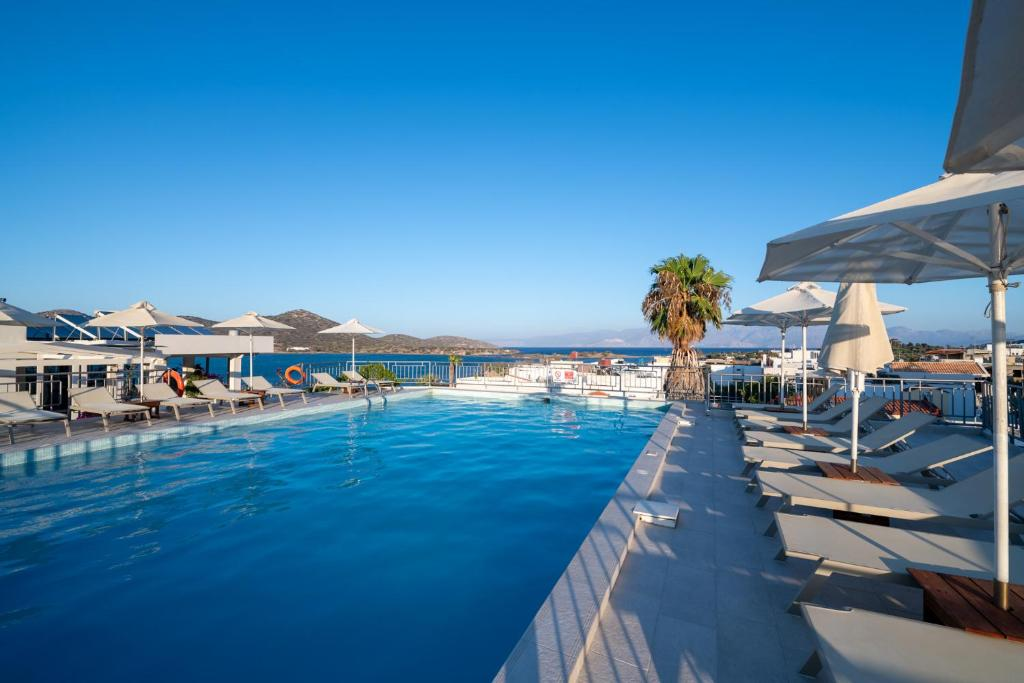 The swimming pool at or close to Elounda Akti Olous (Adults Only)