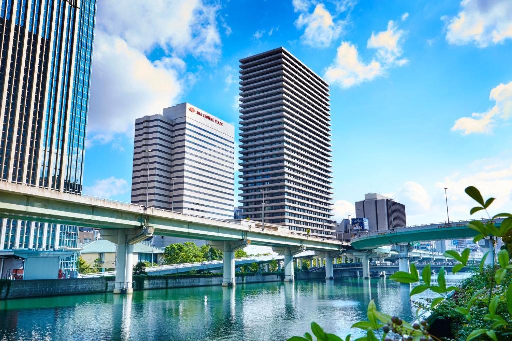 The swimming pool at or near ANA Crowne Plaza Osaka, an IHG Hotel