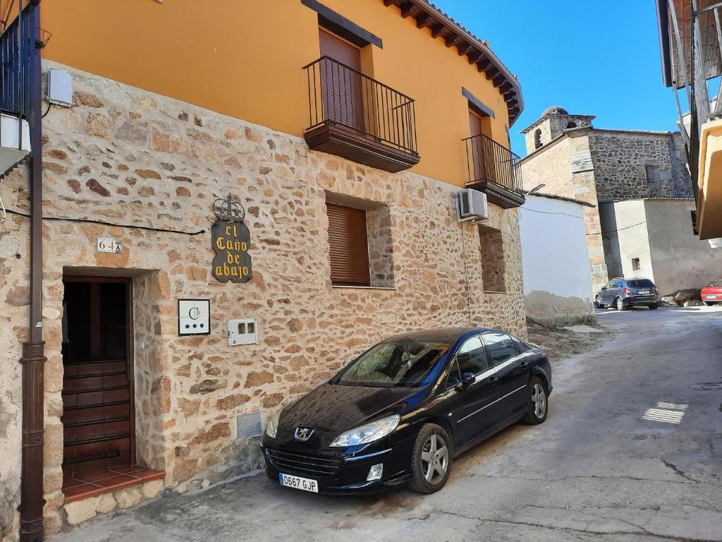 A fachada ou entrada em Casa Rural El Caño de Abajo