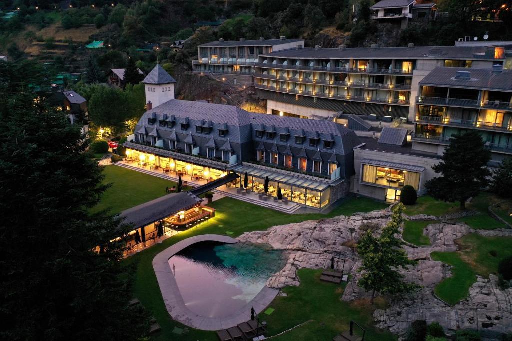 Andorra Park Hotel a vista de pájaro
