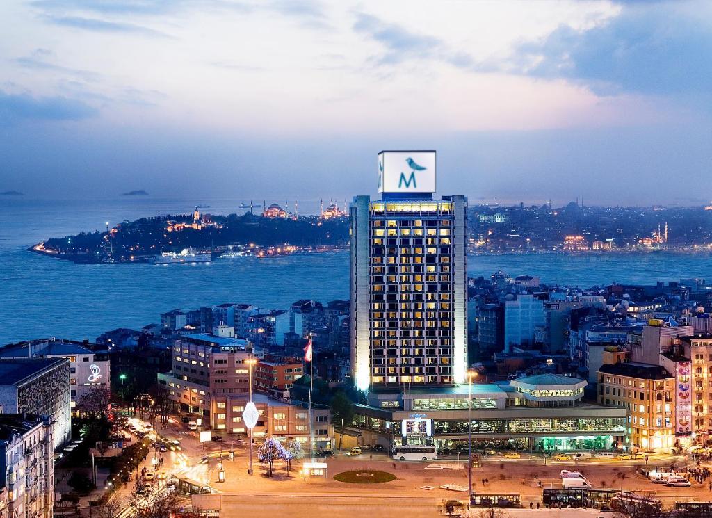 A bird's-eye view of The Marmara Taksim