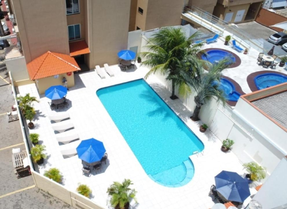 A view of the pool at Aguas do Iguaçu Hotel Centro or nearby