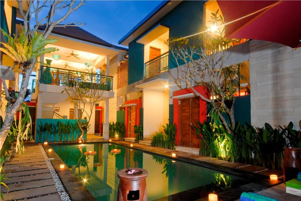 The swimming pool at or close to The Green Zhurga Suite