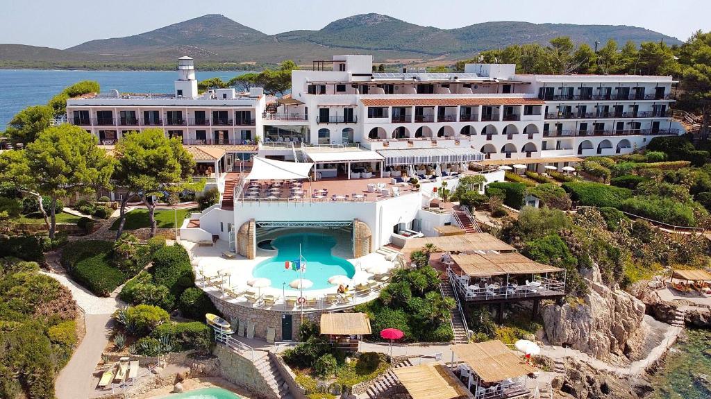 A bird's-eye view of El Faro Hotel & Spa