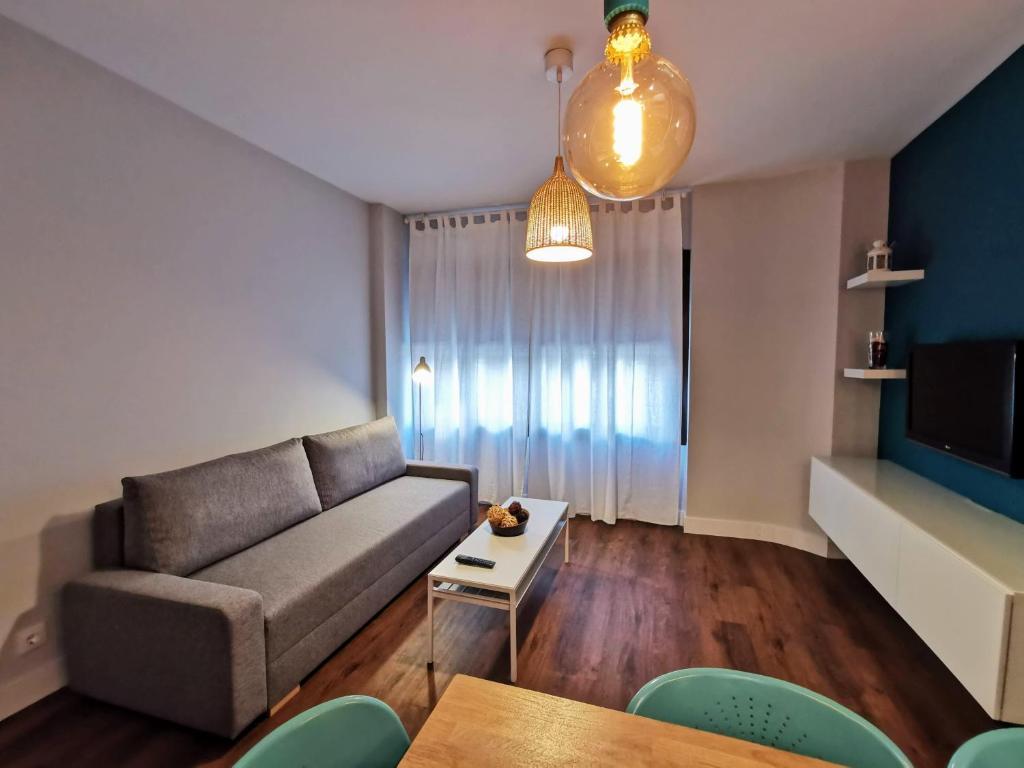 A seating area at Exclusivo apartamento en Triana junto al centro