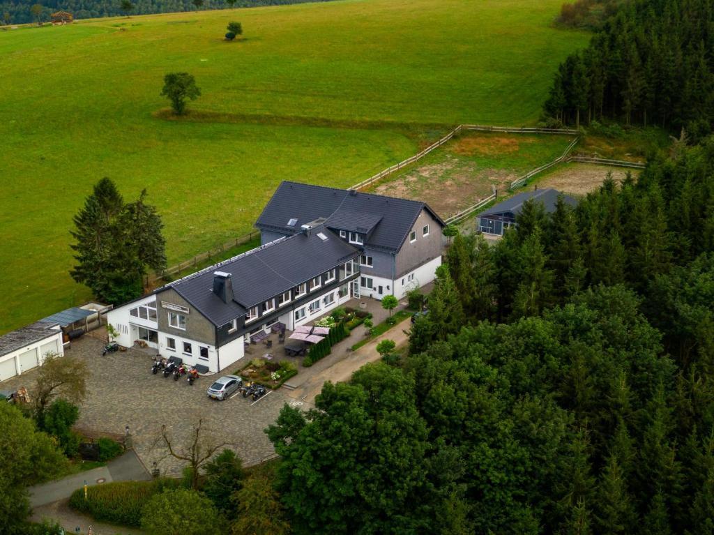 A bird's-eye view of Wittgensteiner Landhaus Winterberg