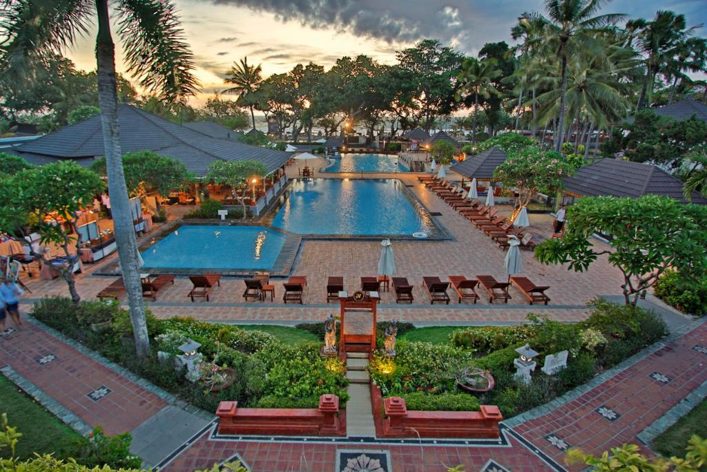 A bird's-eye view of Jayakarta Hotel Bali
