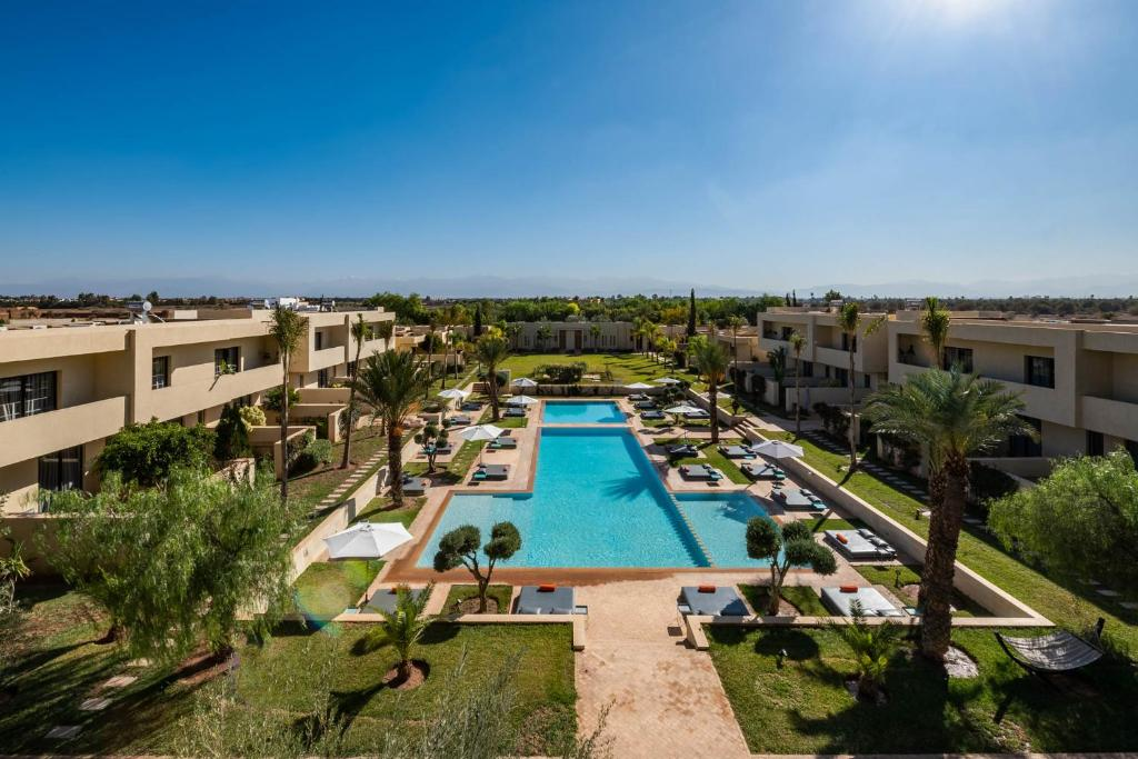A view of the pool at Sirayane Boutique Hotel & Spa Marrakech or nearby