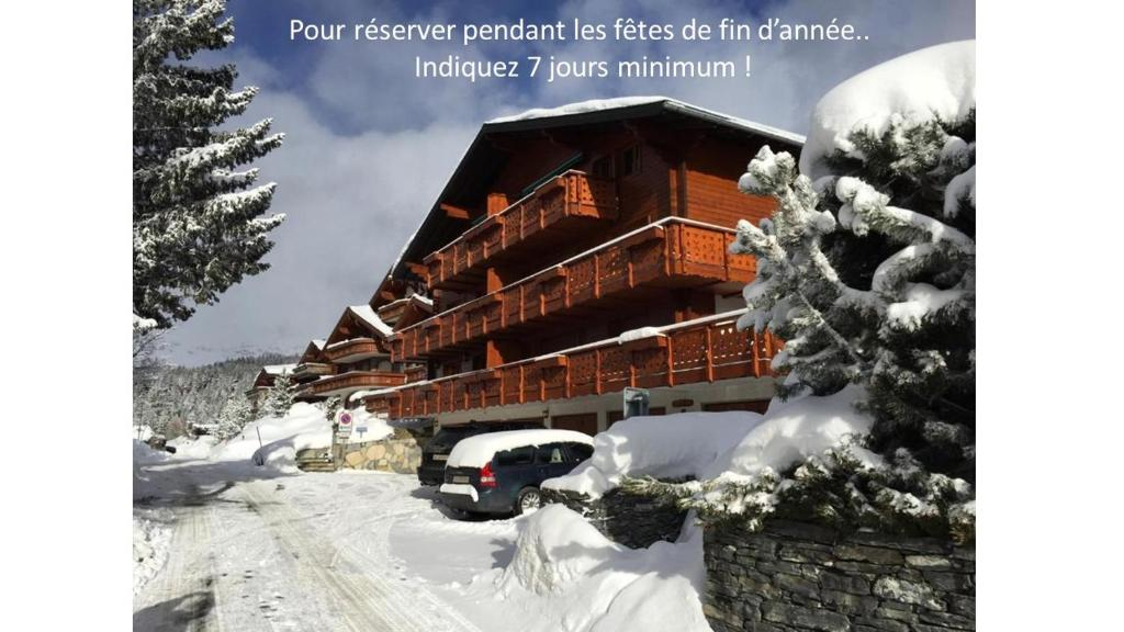 Appartement Crans Montana during the winter