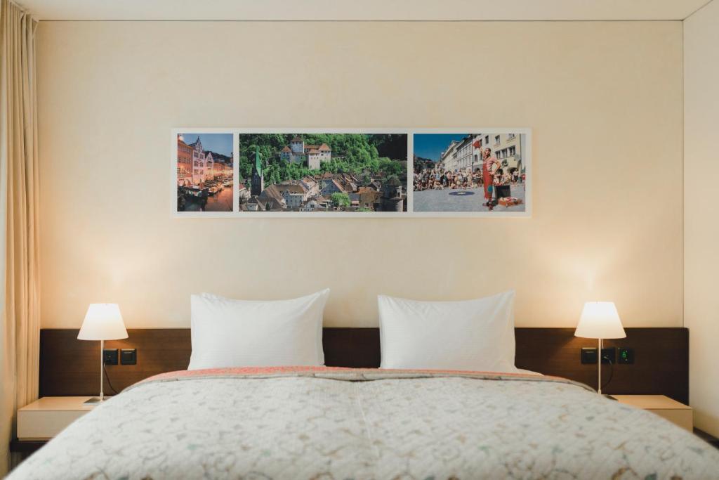 Кровать или кровати в номере Residence Hotel