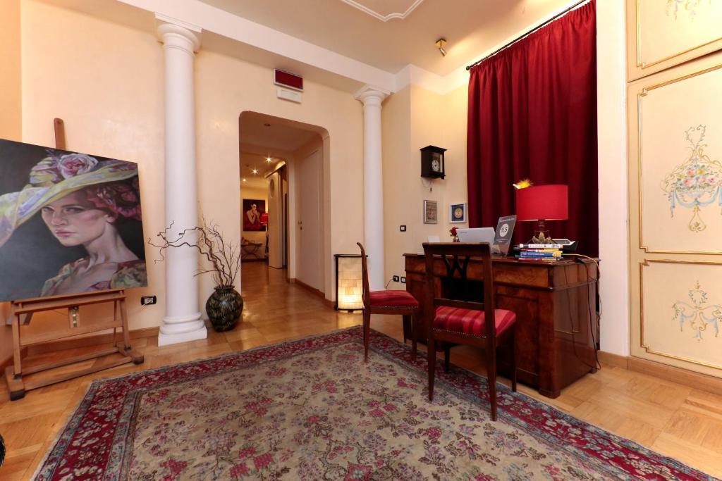 Гостиная зона в Residenza Delle Arti