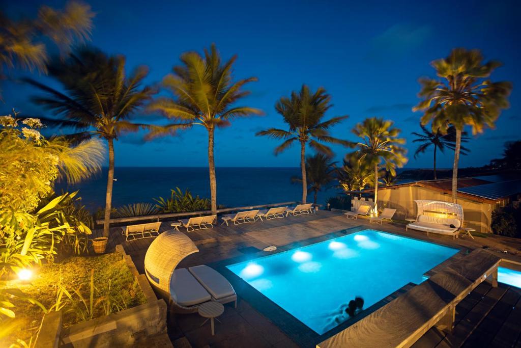 Uma vista da piscina em Hotel da Pipa ou nos arredores