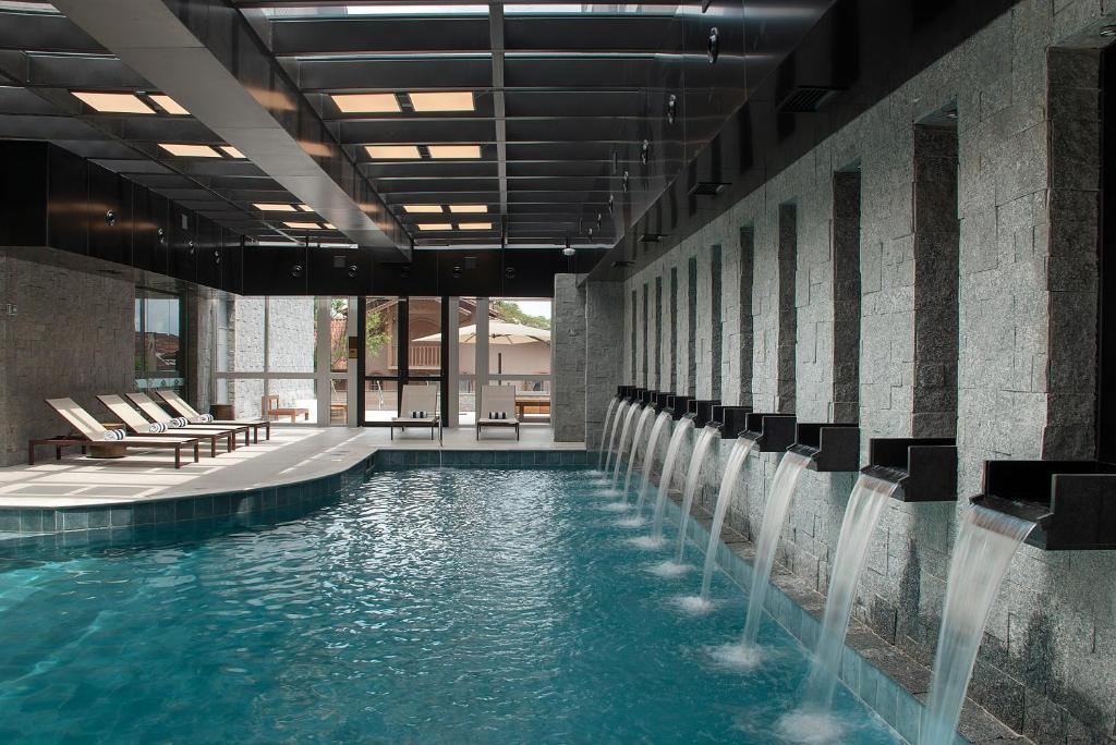 The swimming pool at or close to Exclusive Gramado by Gramado Parks