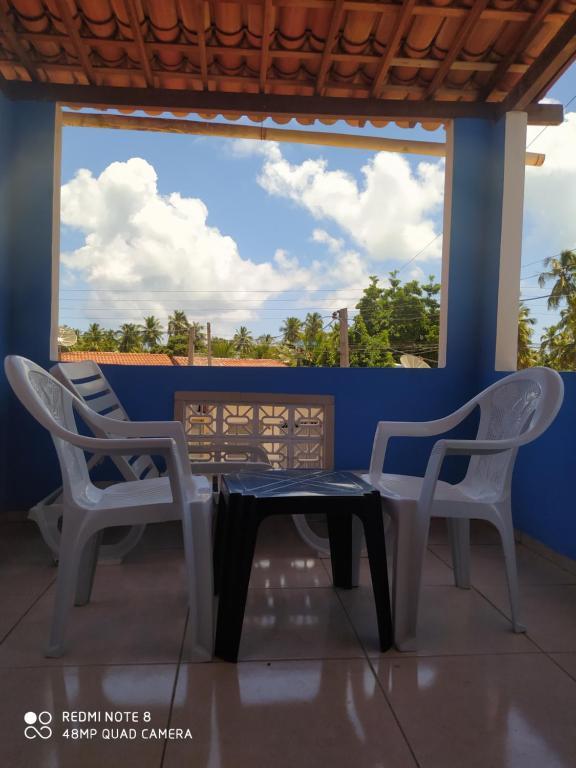 A balcony or terrace at Casa Japa Bech (Bitingui)