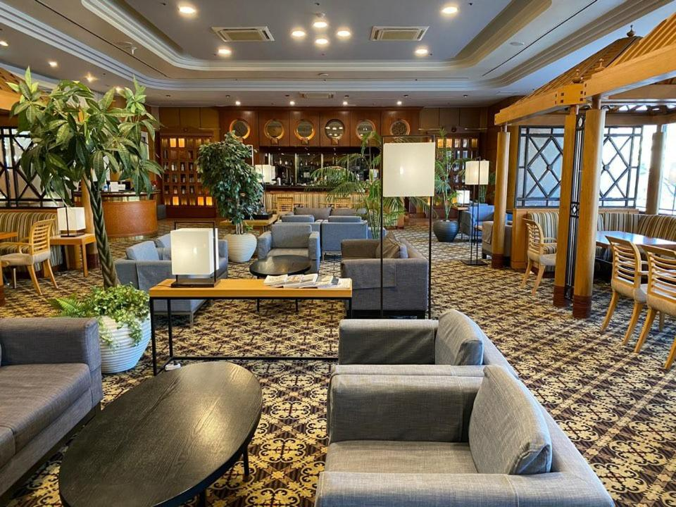 The lobby or reception area at Hotel Paragon