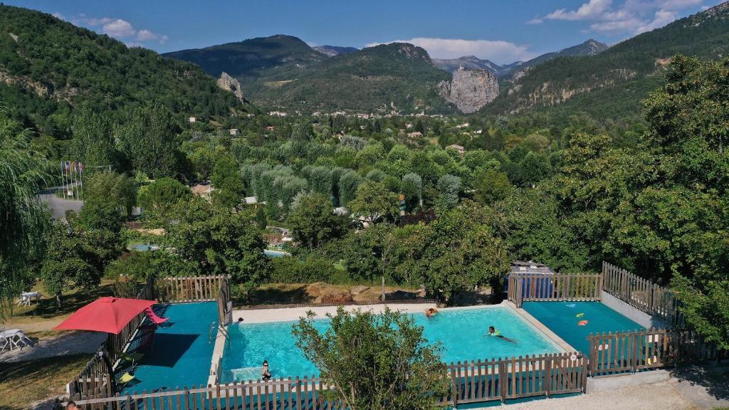 Camping Panoramique du Verdon Castellane, France