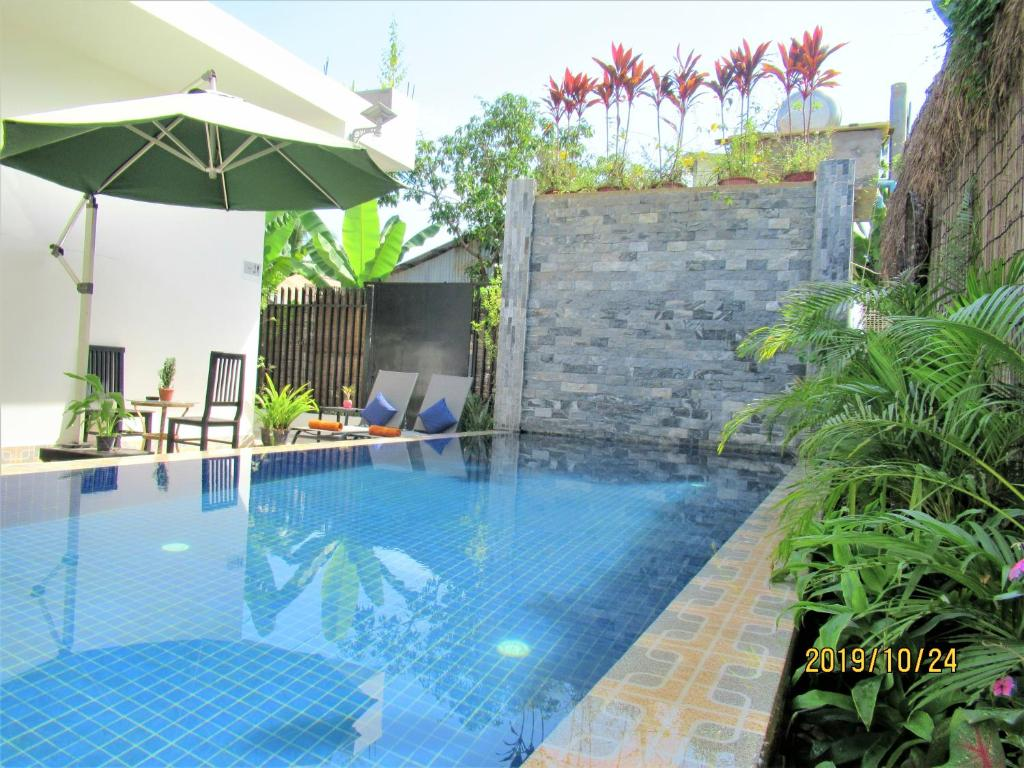 Piscina en o cerca de 333 Hostel Siem Reap