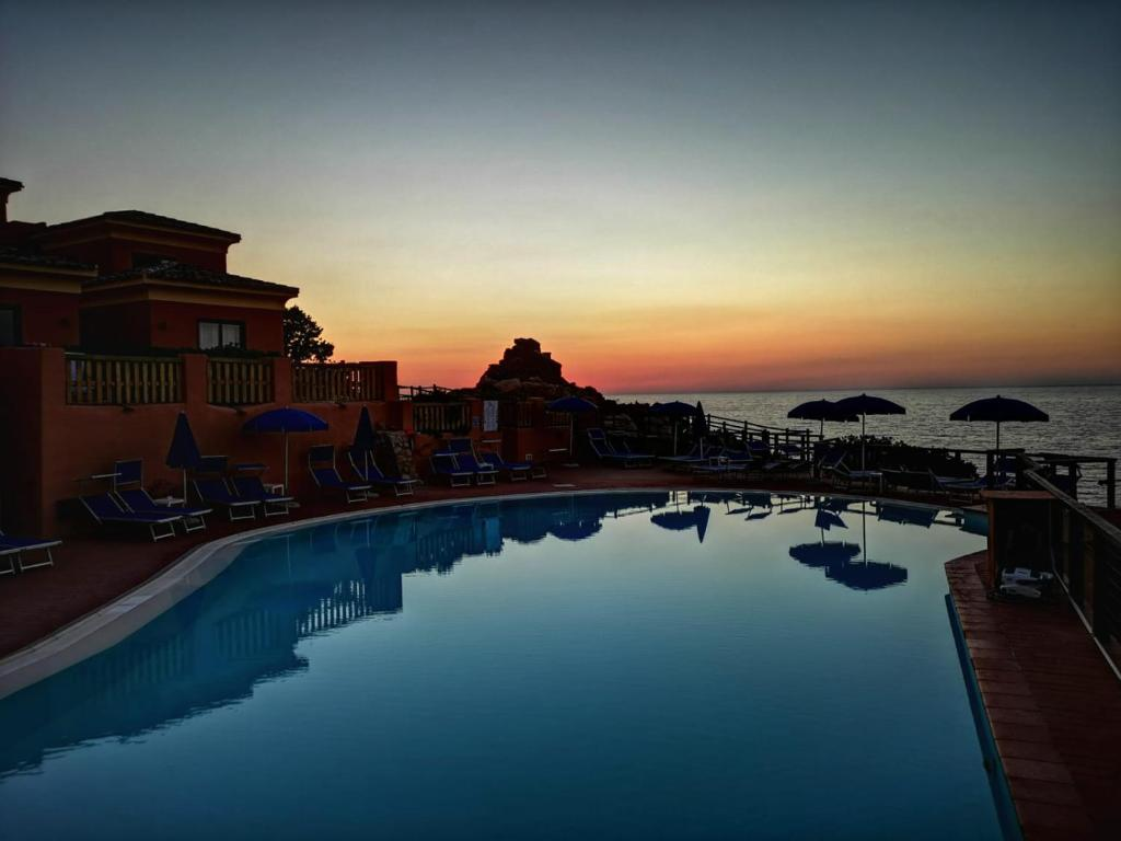 The swimming pool at or near Hotel Costa Paradiso