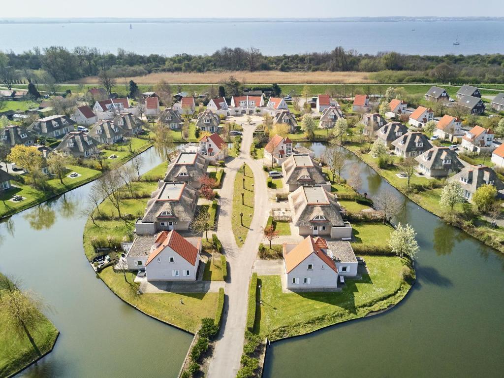 Een luchtfoto van Resort Citta Romana