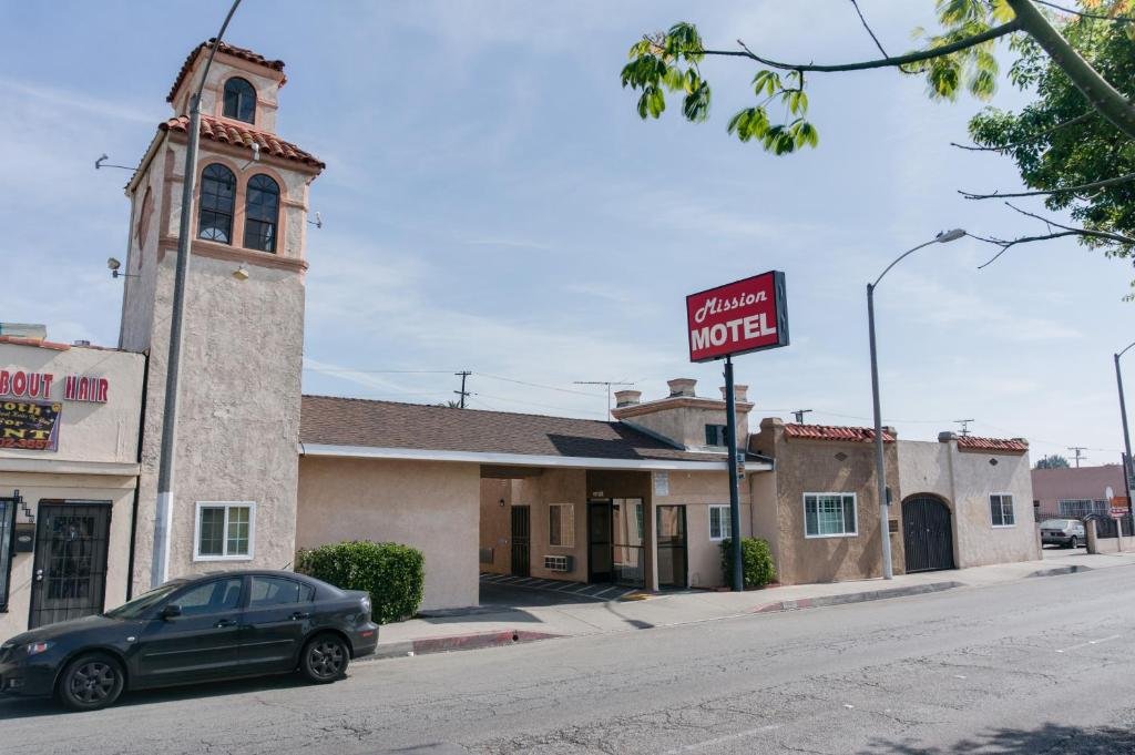 The Mission Motel.